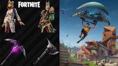 Leaked Fortnite skins and cosmetics found in the V6 10 update files