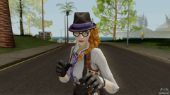 Fortnite Female Gumshoe for GTA San Andreas