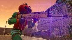 Tomato Head loves his new scar FortNiteBR