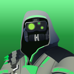Vector Drawing of Archetype FortNiteBR