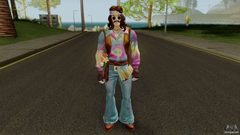Fortnite Hippie Far Out Man for GTA San Andreas