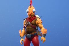 Boy s chicken doodle is turned into real Fortnite skin
