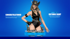 Victoria Saint Fortnite wallpapers