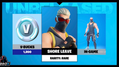 Shore Leave Fortnite wallpapers