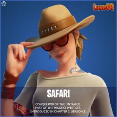 Safari Fortnite wallpapers