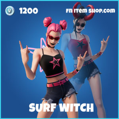 Surf Witch Fortnite wallpapers