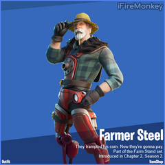 Farmer Steel Fortnite wallpapers