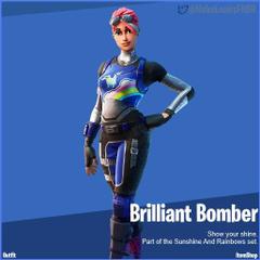 Brilliant Bomber Fortnite wallpapers