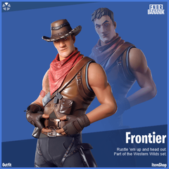Frontier Fortnite wallpapers