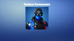 Carbon Commando Fortnite wallpapers