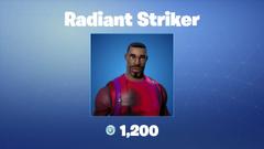 Radiant Striker Fortnite wallpapers