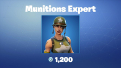 Munitions Expert Fortnite wallpapers