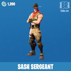 Sash Sergeant Fortnite wallpapers