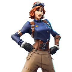 Rare Airheart Outfit Fortnite Cosmetic Cost 1 200 V