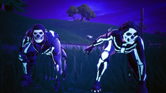 Skull Trooper And Skull Ranger Fortnite Battle Royale 4K