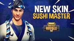New Sushi Master Skin