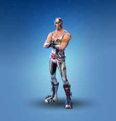 Fortnite Masked Fury Skin