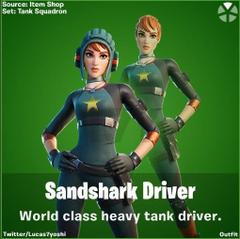 Sandshark Driver Fortnite wallpapers