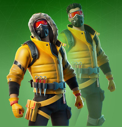 Caution Fortnite wallpapers