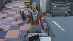 Grill Sergeant really hate when people sneak in line FortNiteBR