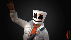 Marshmello Fortnite skin Epic Games Wallpapers and Stock
