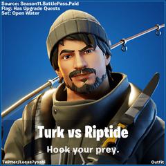 Turk Vs Riptide Fortnite wallpapers