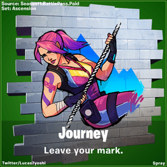 Journey Vs Hazard Fortnite wallpapers