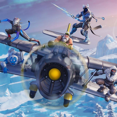 Fortnite season 7 arrives with Santa planes and lots of snow
