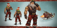 Concept art for Sgt Winter styles Common
