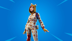 The previously leaked Onesie skin is no longer coming to Fortnite