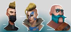 Fortnite Drift Huntress Ragnarok Portraits Wallpapers and
