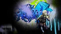 Graffiti Desktop Wallpapers FortNiteBR