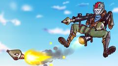 Fortnite Rust Lord Rocket Launcher Battle Royale HD Games 4k