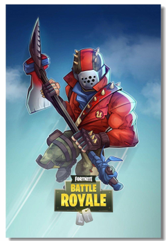 Custom Canvas Wall Painting Game Battle Royale Poster Battle Royale