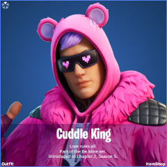Cuddle King Fortnite wallpapers