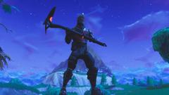 PSA Black Knight w Spectre Axe looks sick AF FortNiteBR