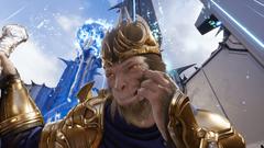 Getting up close with Royal Wukong screenshots