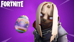 Leaked Fortnite Battle Royale Nitehare Easter skin is terrifying