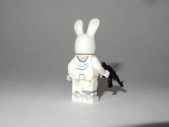 Fortnite Cute Bunny Brawler Back