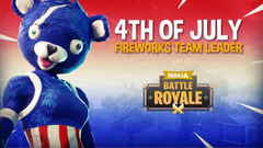 NEW 4th of July Fireworks Team Leader Skin