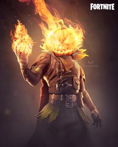 Thought Hollowhead looked like Marvel s Jack O Lantern and so I