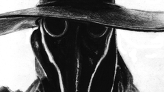 Plague doctor gray wallpapers