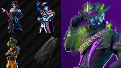 Leaked skins and cosmetics found in Fortnite V6 20 files
