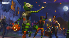 Spooky Team Leader Fortnite wallpapers