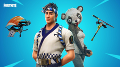 P A N D A Team Leader and Sushi Master FortNiteBR