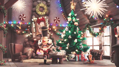 Crackshot features in Fortnite s adorable Christmas