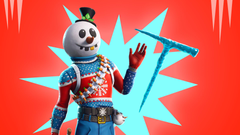 Christmas Skins arrive in Fortnite Slushy soldier Icicle pickaxe