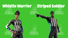 Cosmetics Sneak Peek A I M Whistle Warrior More