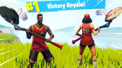 Basketball Jump Shot Fortnite Skin
