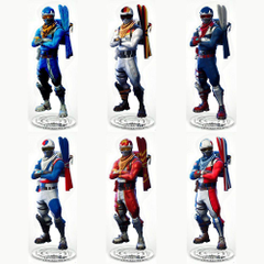 Fortnite Alpine Ace Acrylic Stand Model Toy Desk Ornaments